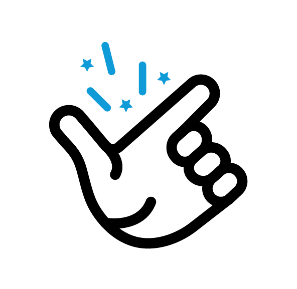 Icon dat flexibele werktijden aanduid